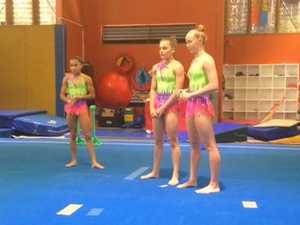 Local gymnastics trio Aussie selections