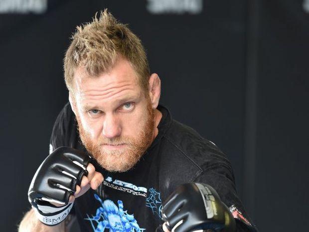 Greg Atzori - Eternal MMA Lightweight Champion. Photo: Alistair Brightman / Fraser Coast Chronicle