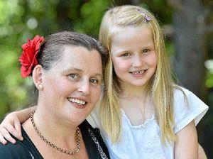 Olivia has bravely fought leukemia her whole life