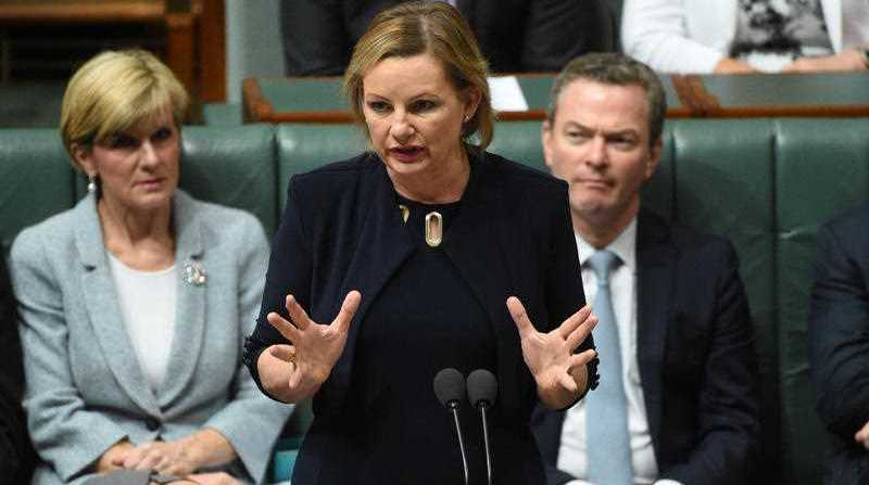 Minister for Health Sussan Ley during Question Time at Parliament House in Canberra on Thursday, Nov. 26, 2015.
