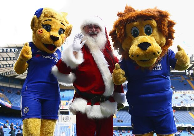 Santa has paid a visit to see embattled Chelsea, but will he bring the reigning EPL champions any good fortune for Christmas?