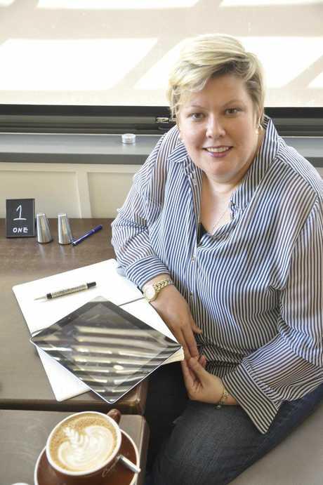 New Toowoomba Chamber of Commerce CEO Helen Jentz.