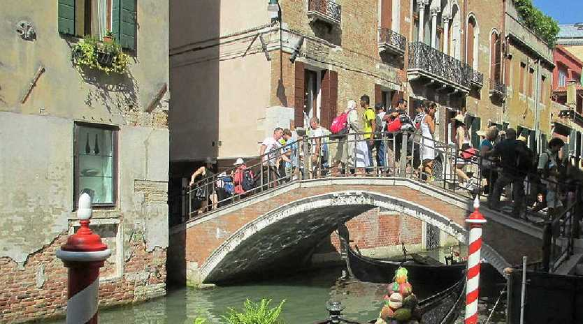 All of Venice is a post card. Get out and walk and lose yourself in the beauty and adventure.