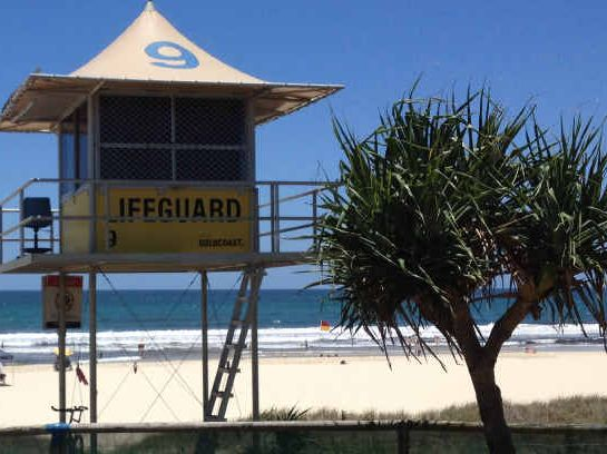 SEEING NEED: Lifeguards try to save lives even if people disobey the rules – they are the Christmas without borders.