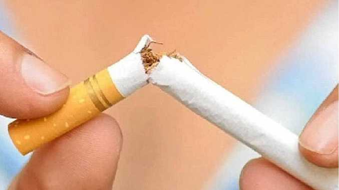 SURVEY SHOWS: Smoking rates among Queensland secondary school students have dropped significantly in last year.