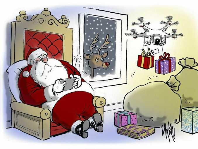 Zanetti santa cartoon 20-12-15
