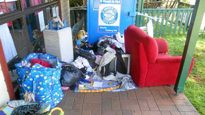 Vinnies should not be a dumping ground for rubbish