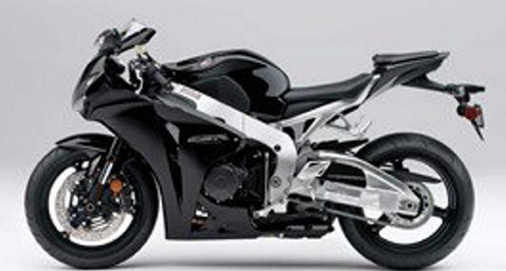 The motorcycle taken from Kunda Park is a black 2011 Honda CBR 1000RR.