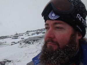 Gladstone man calls Antarctica home for four months