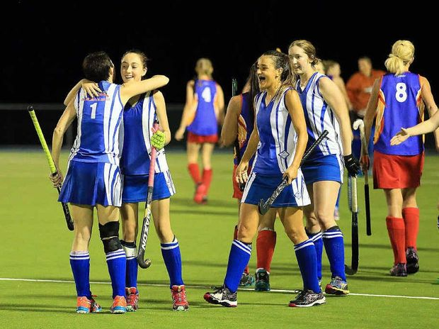 TOP NOTCH: Wallaroos produced the perfect season to win both the Maryborough District Hockey Association Division 1 and Premier League titles.