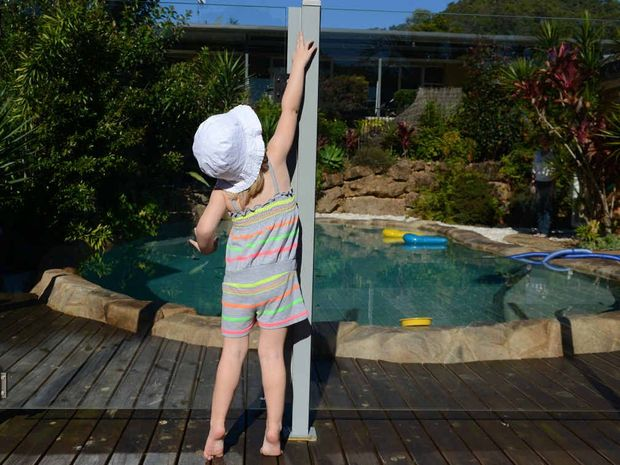 POOL SAFETY: A coroner has ruled a toddler's death was preventable if the pool gate had not been propped open.