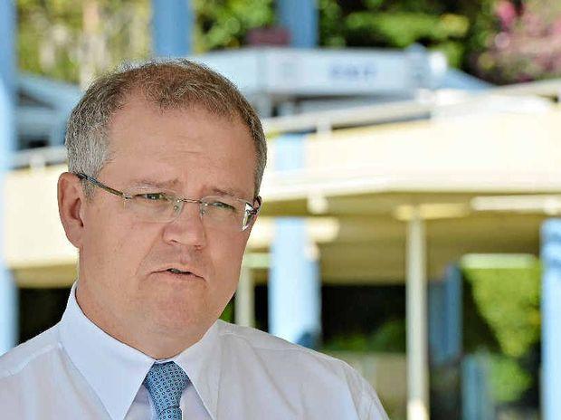 BIG ASK: Treasurer Scott Morrison is talking about reining in spending.