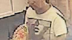 Police want to speak to this man in relation to an incident at Milne Bay Aquatic Centre.