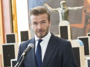 David Beckham honoured at UNICEF Ball