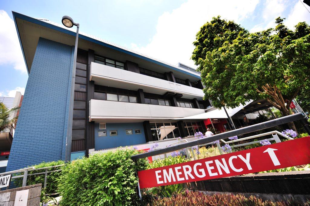 Nambour General Hospital's emergency department.