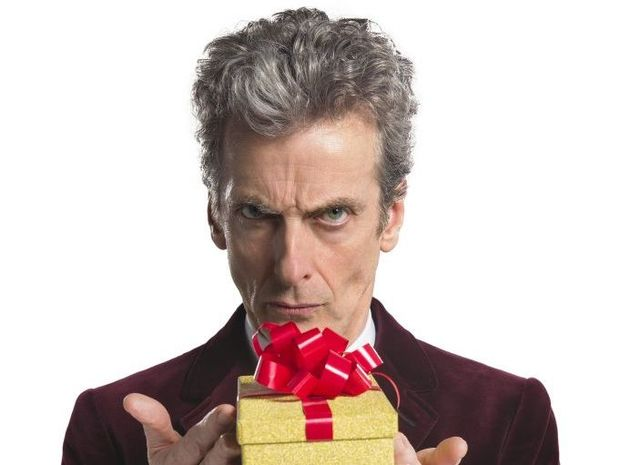 Peter Capaldi stars in tonight's Doctor Who Christmas Special.