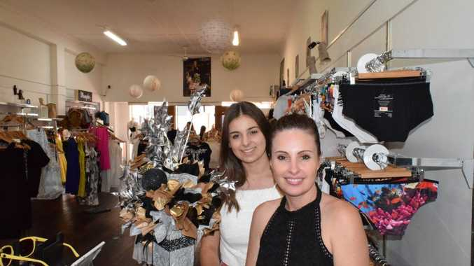 FAIR GO: 3 Style fashion retail owner Audra Cunningham (right) and casual employee Darcie Holgate-English, 16.