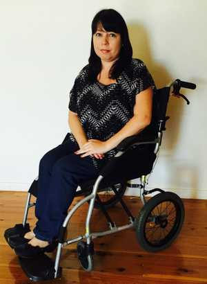 GRUELLING JOURNEY: Cathy Marais will travel to Mexico to undergo a dangerous and controversial procedure in order to slow down the symptoms of MS. Contributed.