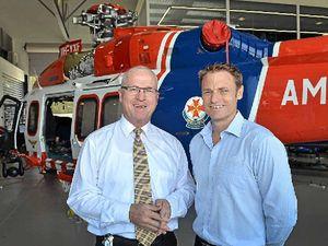 Sunshine Coast's high-tech ambulance choppers take off