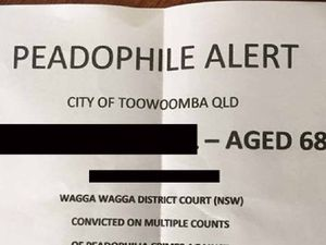 Letter outing Toowoomba paedophile fake: cops
