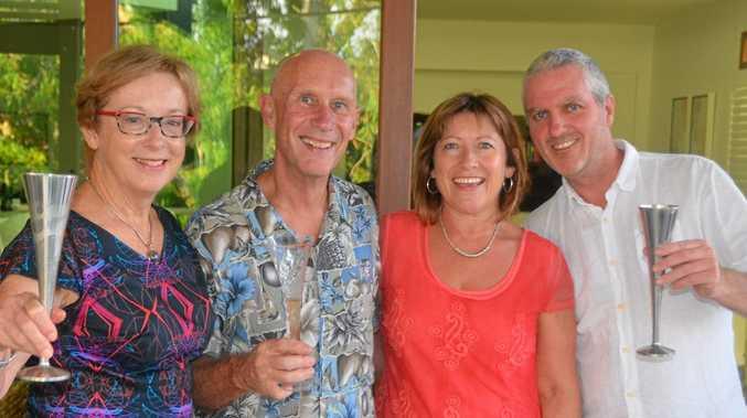 Enova Energy co-founders Alison Crook, Steve Harris, Melissa Mac Court, and Patrick Halliday.  Photo Contributed