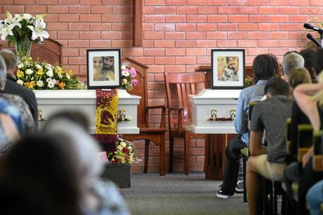 More than 700 people attended the funeral of Ryan Battese and Tamar Lee Mavir at the Uniting Church in Coraki. Photo Marc Stapelberg / The Northern Star