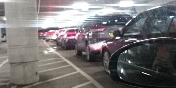 Shoppers stuck in their cars for up to six hours as they try to leave the Bluewater mall in Kent, one of the largest shopping centres in the UK