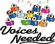 Choir Voices needed