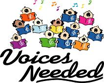 Choir Voices needed