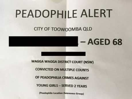 A letter sent to Toowoomba residents which has since be exposed as a fake.