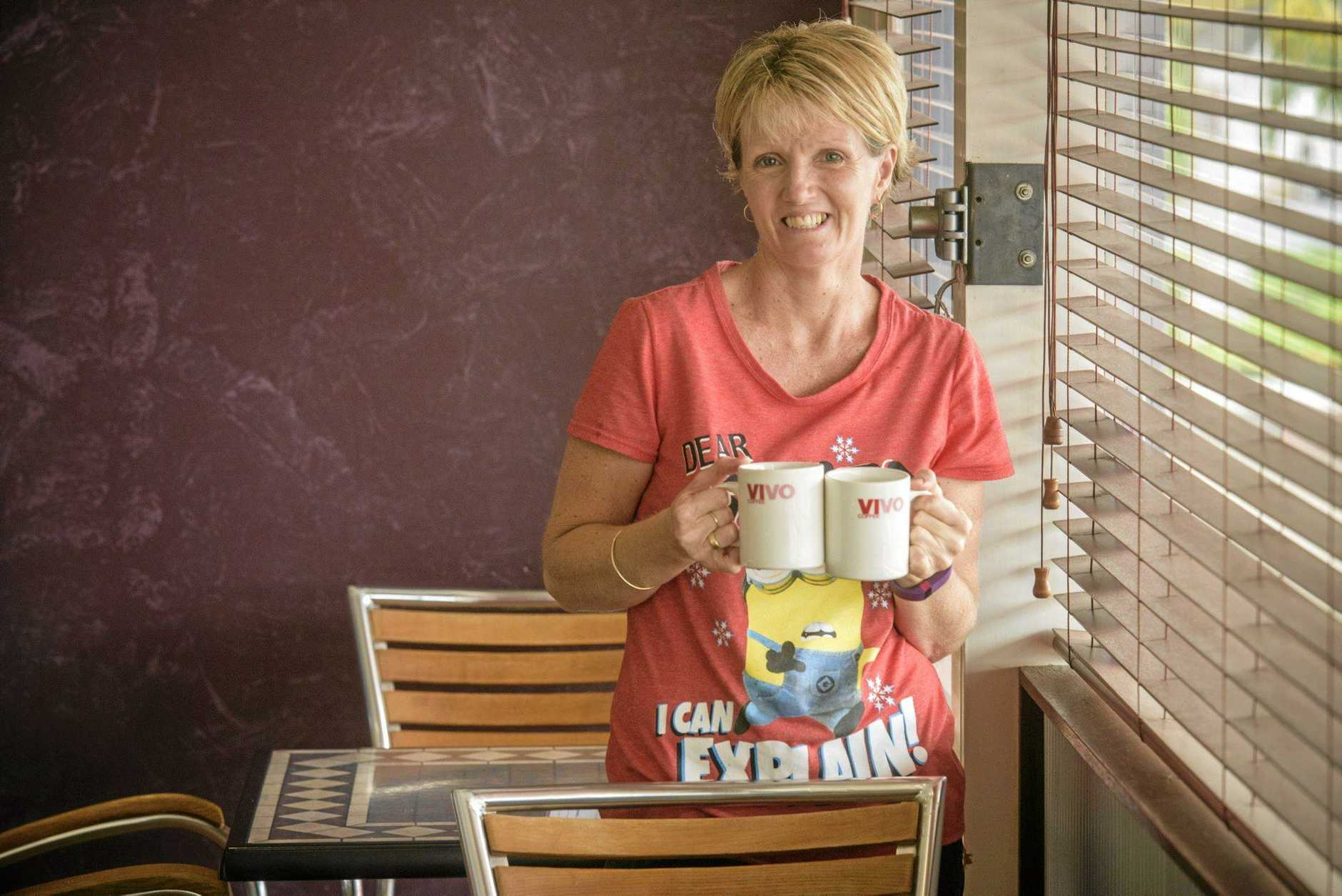 CHANGE CONSIDERED: Purple Haze cafe owner Leisa Connolly.