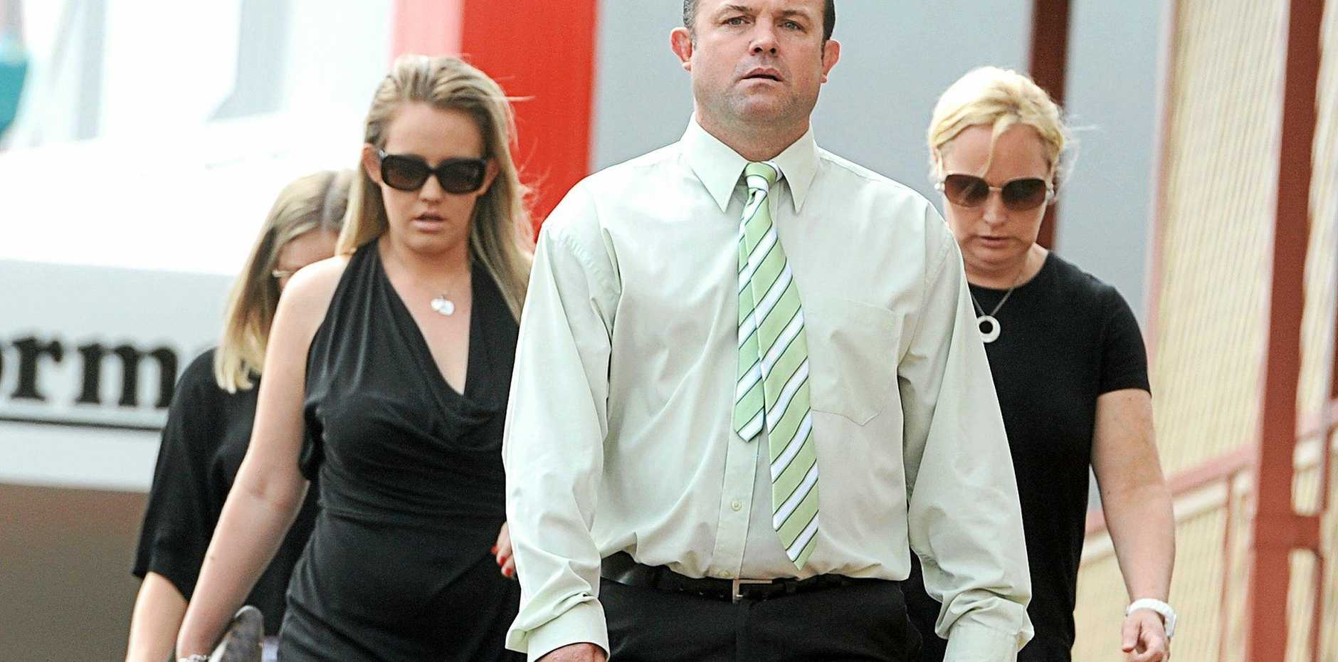 APPEAL LOST: Craig Field outside Lismore Court.