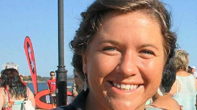 TOUGH: Around-the-world sailor Lisa Blair.
