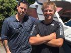 Tauranga fishermen Paul Adlington and Elliot Gordon.