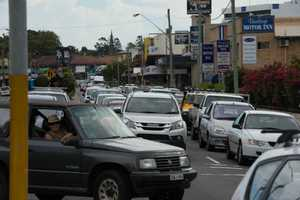 Almost triple the usual number of vehicles will travel through Coffs Harbour over the Christmas/New Year period.
