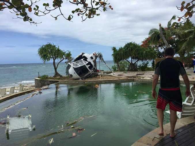 Bob Carroll's photo of the Fijian plane