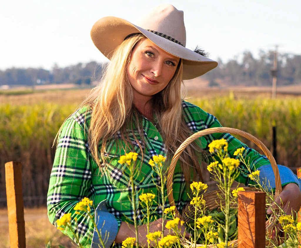 FARM FRESH: Cilla Slack from the live Blue Gum Farm show will visit Ipswich in January.