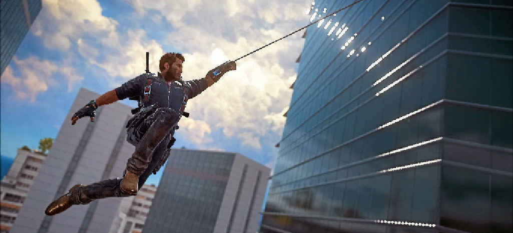LET-DOWN: Just Cause 3 didn't quite live up to the hype of its predecessor.