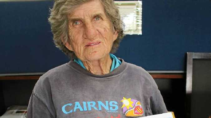 LOCAL LEGEND: Warwick icon Jenny Harrington was moved to a nursing home in Millmerran last month.
