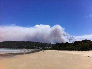 Victorian bushfire residents return to see ravaged homes