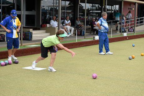 A bit of extra luck was all ways helpful, Lennox Head competitor Sue Grady said.