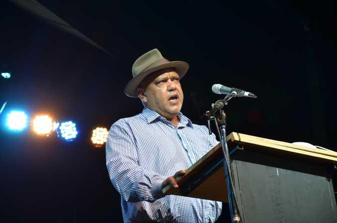 Noel Pearson appears at the Woodford Folk Festival
