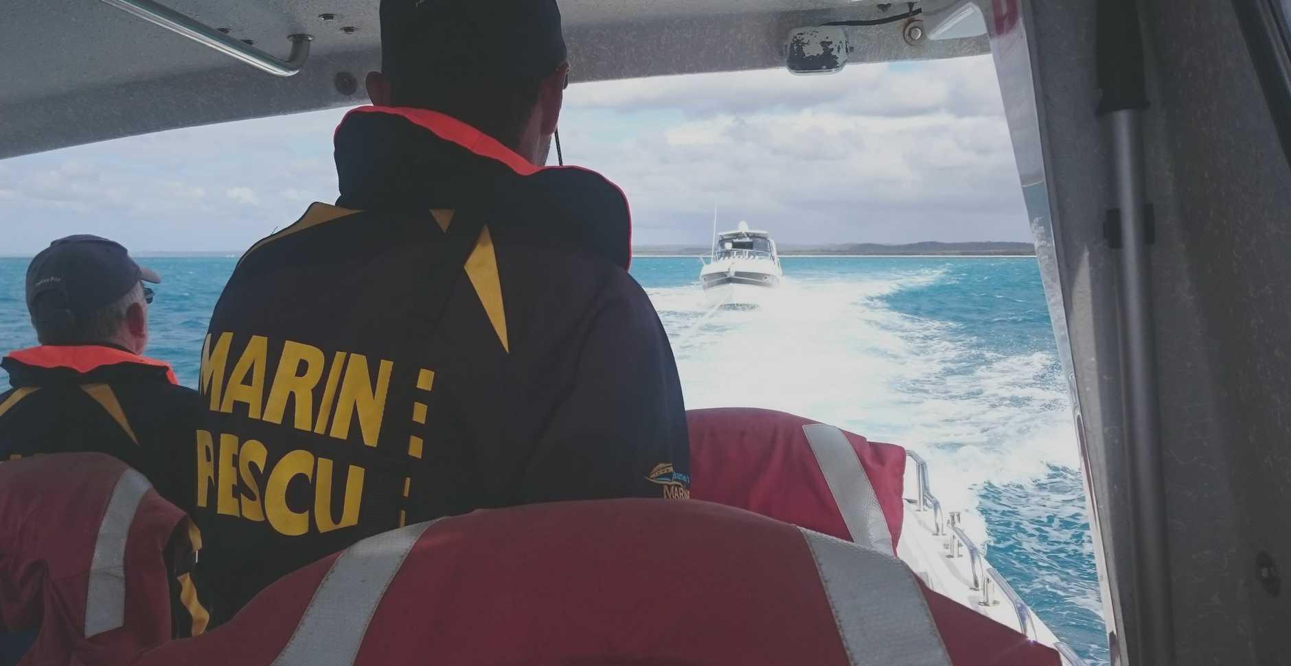 Volunteer Marine Rescue had a relatively quiet Christmas weekend.