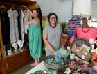 Kelly Oosthuizen and owner of Kelly & Macc, Nickol McKinla, in the new store on Gregory St. Photo Lee Constable / Daily Mercury