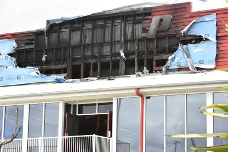 Snap Fitness in the Toowoomba CBD has been damaged by fire for the second time in a month.