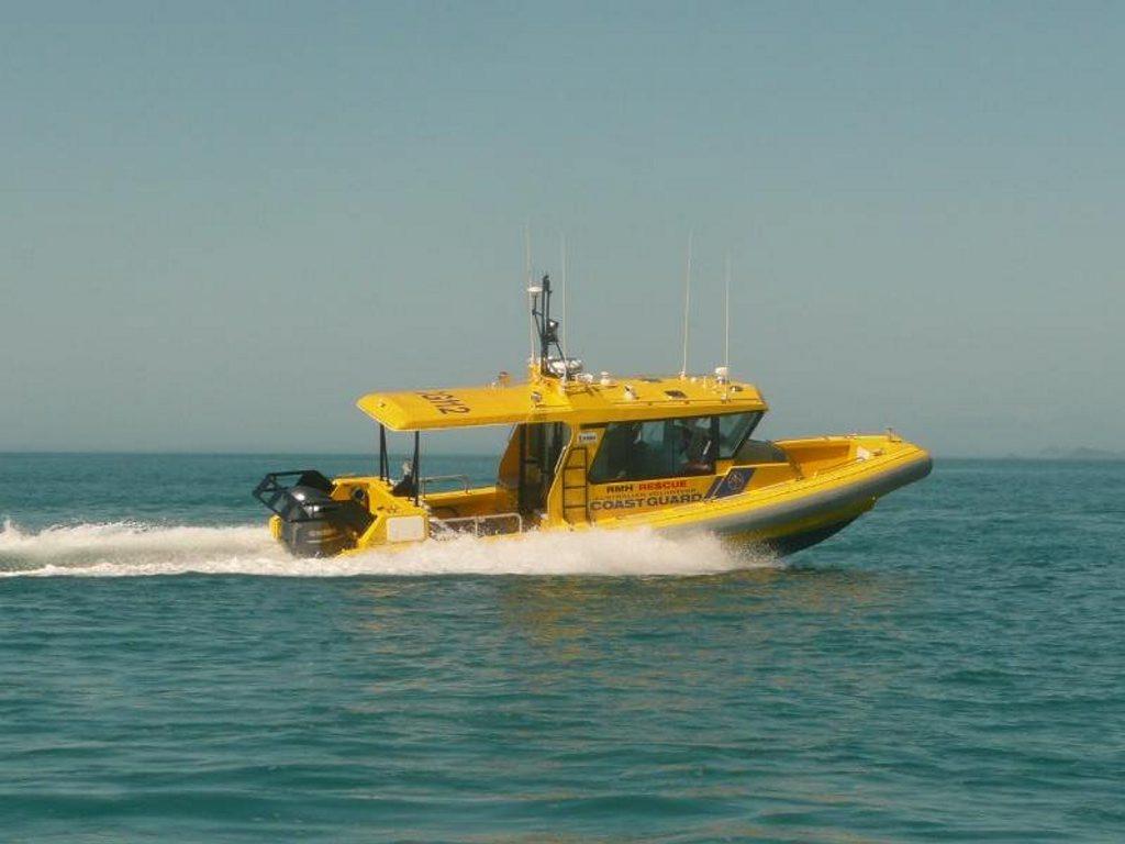 Yeppoon Coast Guard RMH Rescue Boat.