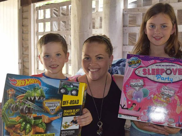 Rocky children donate Christmas presents to fire victims ...