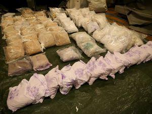 HMAS Melbourne busts 118kg heroine shipment