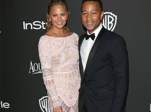 Model Chrissy Teigen pays tribute to Legend of a husband