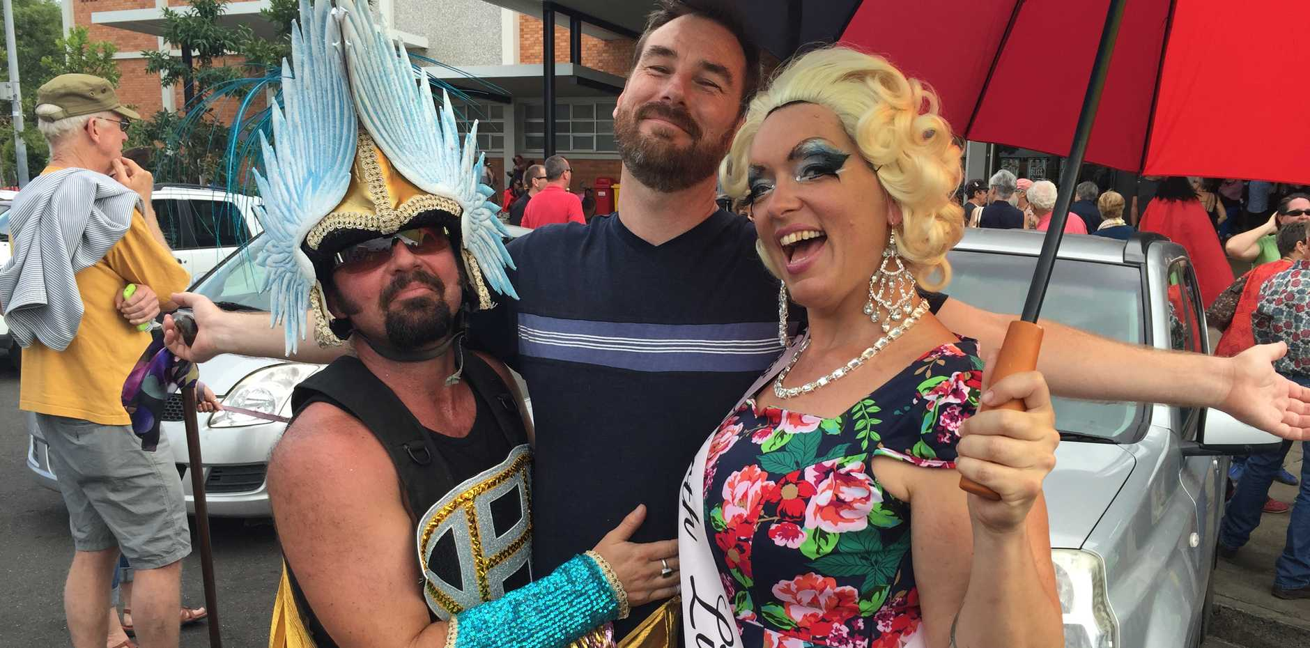 COMMUNITY: The local LGTBI community's event has gathered visitors from more than ten countries.